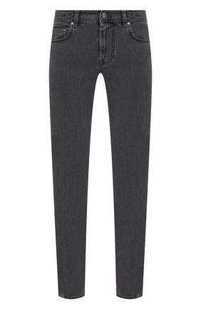 Мужские джинсы CORNELIANI серого цвета, арт. 874JK2-1120143/00   Фото 1