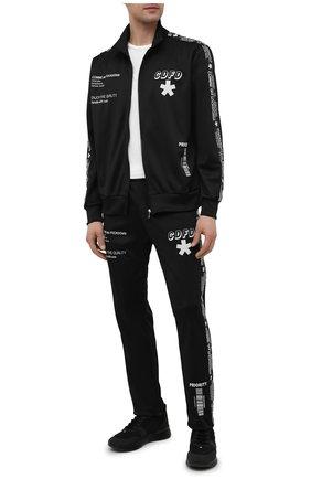 Мужские брюки COMME DES FUCKDOWN черного цвета, арт. CDFU1163 | Фото 2
