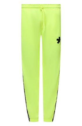 Мужские джоггеры COMME DES FUCKDOWN светло-зеленого цвета, арт. CDFU1169 | Фото 1