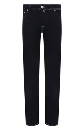 Мужские джинсы JACOB COHEN темно-синего цвета, арт. J620 C0MF 00973-W1/55 | Фото 1