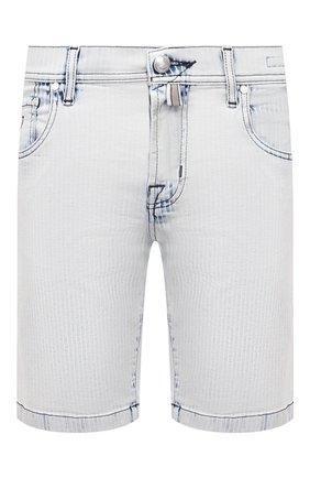 Мужские джинсовые шорты JACOB COHEN светло-голубого цвета, арт. J6636 C0MF 02329-W2/55   Фото 1