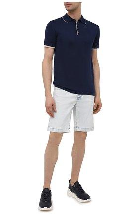 Мужские джинсовые шорты JACOB COHEN светло-голубого цвета, арт. J6636 C0MF 02329-W2/55   Фото 2