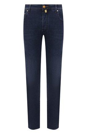 Мужские джинсы JACOB COHEN синего цвета, арт. J688 C0MF 01969-W2/55 | Фото 1