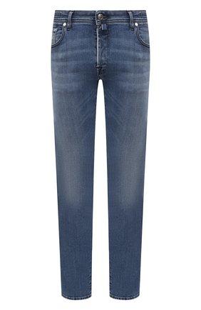 Мужские джинсы JACOB COHEN синего цвета, арт. J688 LIMITED C0MF 02306-W3/55   Фото 1
