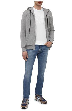 Мужские джинсы JACOB COHEN синего цвета, арт. J688 LIMITED C0MF 02306-W3/55   Фото 2