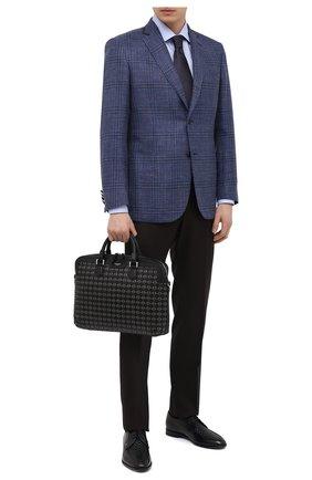 Мужская кожаная сумка для ноутбука mosaico SERAPIAN черного цвета, арт. SRM0SMLL712137A | Фото 2