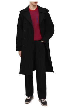 Мужской хлопковый джемпер STONE ISLAND SHADOW PROJECT красного цвета, арт. 7419505A3 | Фото 2