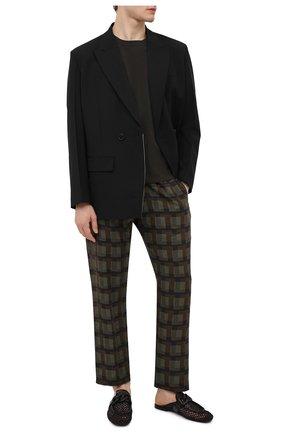 Мужские кожаные сабо ROCCO P. черного цвета, арт. 12006/A3843   Фото 2