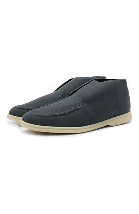 Текстильные ботинки Open Walk | Фото №1