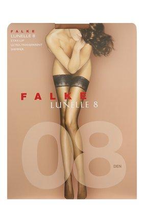 Женские чулки lynelle 8 FALKE бежевого цвета, арт. 41532 | Фото 1