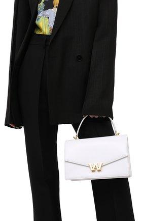 Женская сумка w legacy small ALEXANDER WANG белого цвета, арт. 20121R31L   Фото 2