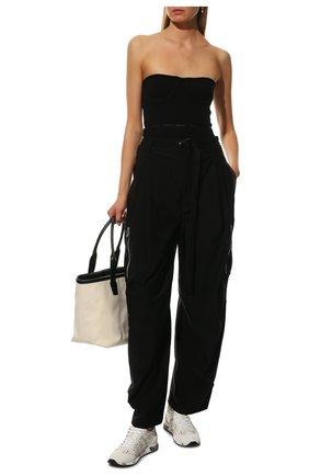 Женские комбинированные кроссовки lucyd PREMIATA белого цвета, арт. LUCYD/VAR460E | Фото 2