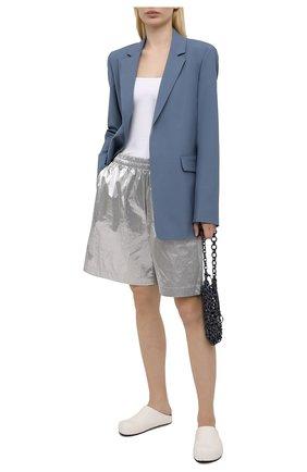 Женские кожаные сабо fussbett MARNI белого цвета, арт. SBMS003900/P3933 | Фото 2