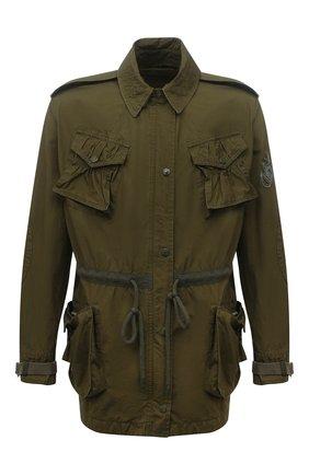 Женская хлопковая куртка 1 moncler jw anderson MONCLER GENIUS хаки цвета, арт. G1-09E-1A000-05-M1145 | Фото 1