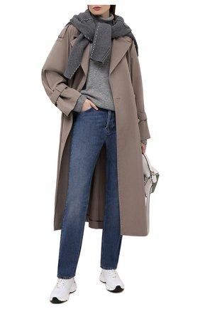 Женские кожаные кроссовки TOD'S белого цвета, арт. XXW54C0EF41PYA | Фото 2