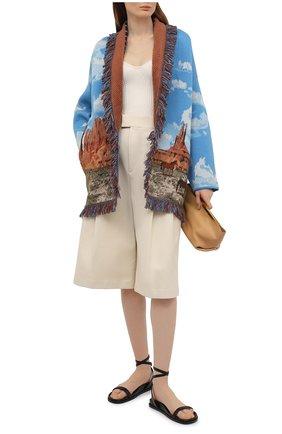 Женский шерстяной кардиган ALANUI разноцветного цвета, арт. LWHB044S21KNI011   Фото 2