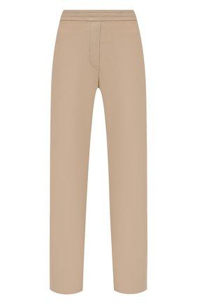 Женские кожаные брюки JOSEPH бежевого цвета, арт. JF005265   Фото 1