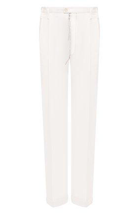 Женские хлопковые брюки MAISON MARGIELA белого цвета, арт. S51KA0535/S53687 | Фото 1