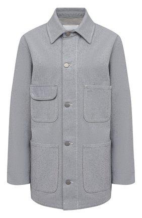 Женская джинсовая куртка MAISON MARGIELA светло-голубого цвета, арт. S29AM0380/S30754 | Фото 1