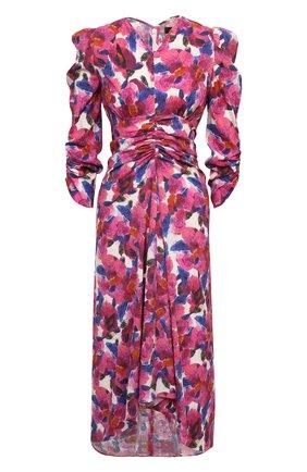 Женское платье из вискозы ISABEL MARANT розового цвета, арт. R01998-21E026I/ALBISD | Фото 1