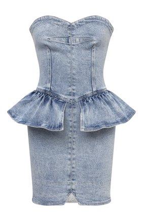 Женское джинсовое платье ISABEL MARANT голубого цвета, арт. R01979-21E019I/D0LIZI | Фото 1