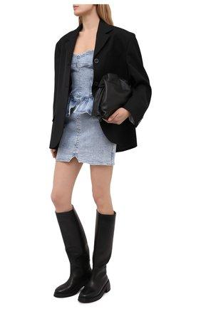 Женское джинсовое платье ISABEL MARANT голубого цвета, арт. R01979-21E019I/D0LIZI | Фото 2