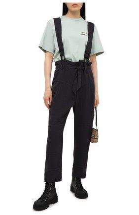 Женские брюки ISABEL MARANT черного цвета, арт. PA1906-21E013I/FINEBA   Фото 2