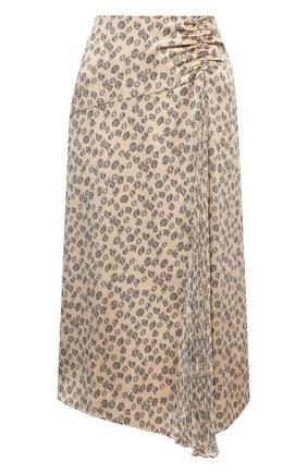 Женская юбка VINCE бежевого цвета, арт. V738430682 | Фото 1