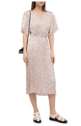 Женское платье VINCE светло-бежевого цвета, арт. V741251349   Фото 2