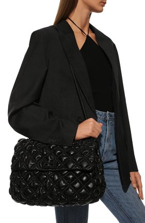 Женская сумка spikeme VALENTINO черного цвета, арт. VW0B0H77/EFZ   Фото 2