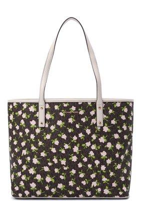 Женский сумка-тоут carter large MICHAEL MICHAEL KORS коричневого цвета, арт. 30S1GZPT3B | Фото 1