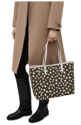 Женский сумка-тоут carter large MICHAEL MICHAEL KORS коричневого цвета, арт. 30S1GZPT3B | Фото 2