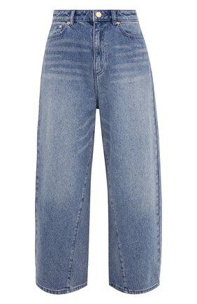 Женские джинсы MICHAEL MICHAEL KORS голубого цвета, арт. MS19009FAU | Фото 1