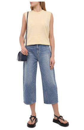 Женские джинсы MICHAEL MICHAEL KORS голубого цвета, арт. MS19009FAU | Фото 2