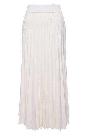 Женская шерстяная юбка GABRIELA HEARST белого цвета, арт. 221915 A002 | Фото 1