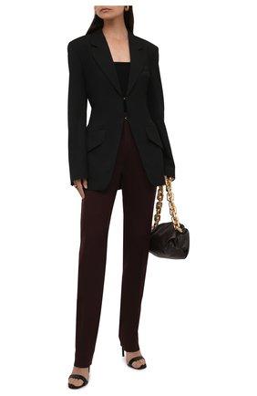 Женский жакет NANUSHKA черного цвета, арт. LYDIA_BLACK_FSC TENCEL | Фото 2