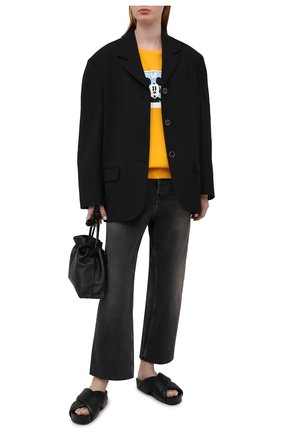 Женский хлопковый свитшот ICEBERG желтого цвета, арт. 21E I2P0/E021/6300 | Фото 2