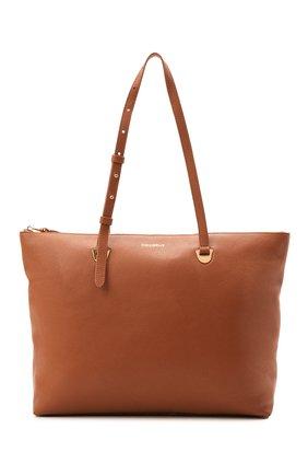 Женский сумка lea COCCINELLE коричневого цвета, арт. E1 H60 11 01 01   Фото 1