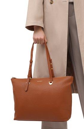 Женский сумка lea COCCINELLE коричневого цвета, арт. E1 H60 11 01 01   Фото 2