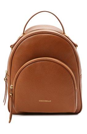 Женский рюкзак lea COCCINELLE коричневого цвета, арт. E1 H60 14 01 01 | Фото 1