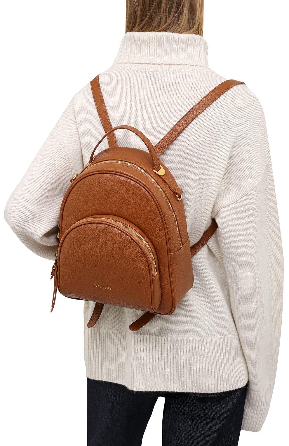 Женский рюкзак lea COCCINELLE коричневого цвета, арт. E1 H60 14 01 01 | Фото 2