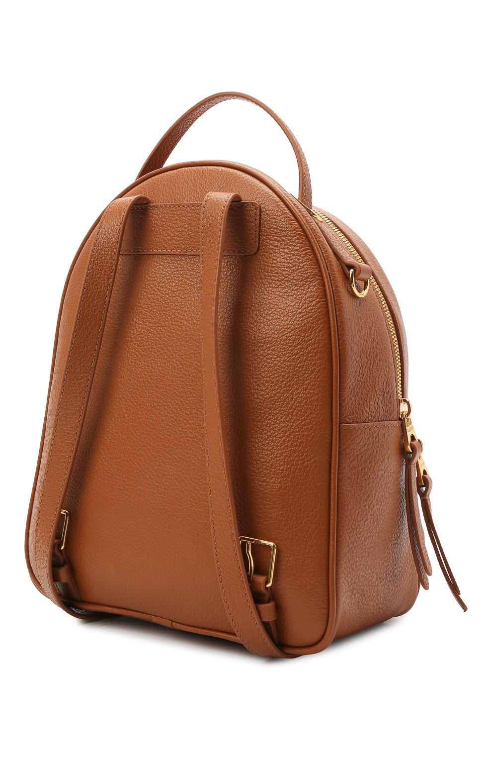 Женский рюкзак lea COCCINELLE коричневого цвета, арт. E1 H60 14 01 01 | Фото 3