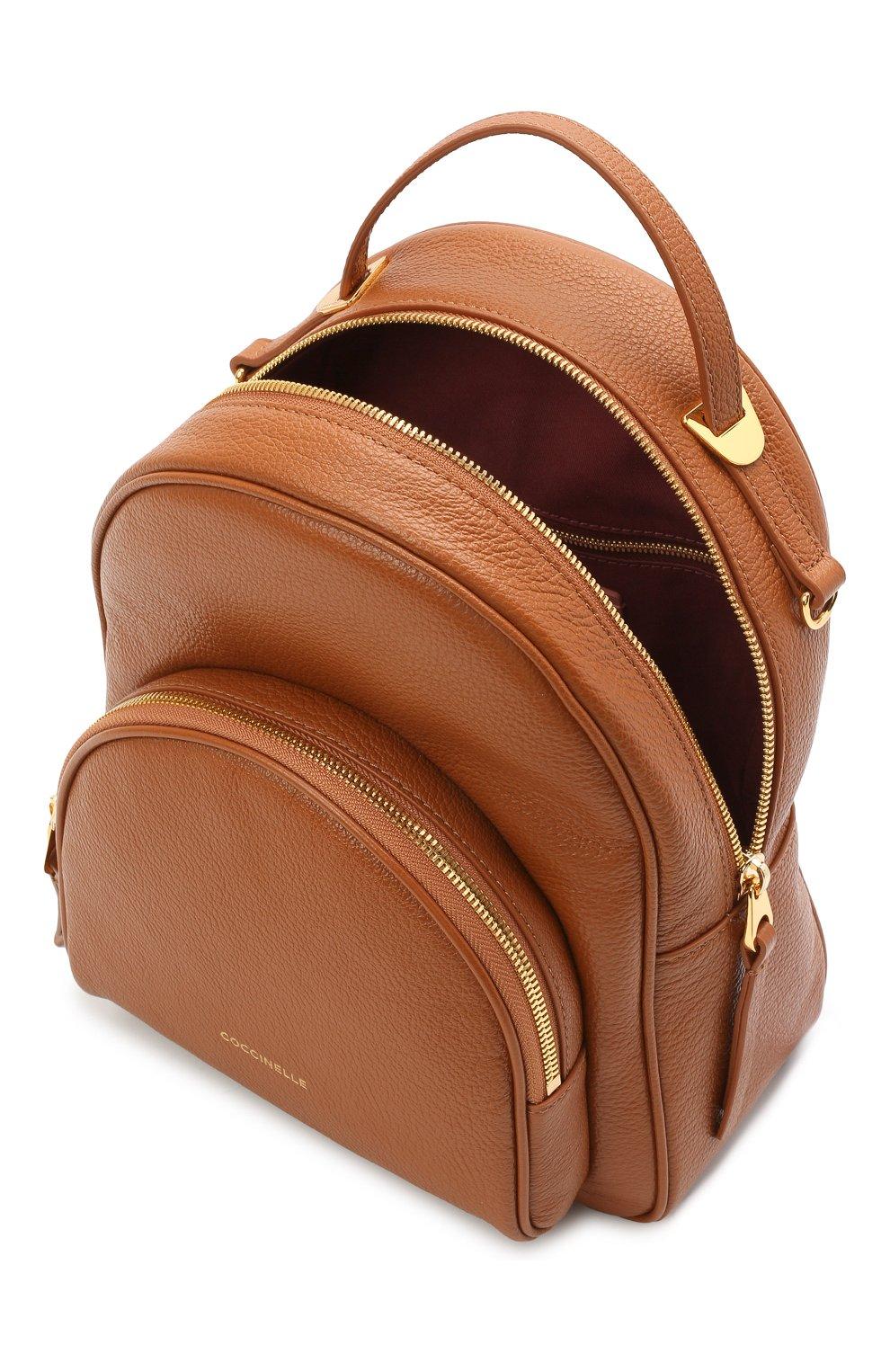 Женский рюкзак lea COCCINELLE коричневого цвета, арт. E1 H60 14 01 01 | Фото 4