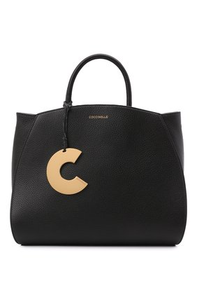 Женская сумка concrete COCCINELLE черного цвета, арт. E1 HLA 18 01 01   Фото 1