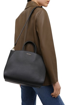 Женская сумка concrete COCCINELLE черного цвета, арт. E1 HLA 18 01 01   Фото 2