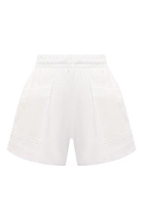 Женские хлопковые шорты DRIES VAN NOTEN белого цвета, арт. 211-11120-2603 | Фото 1 (Материал внешний: Хлопок; Длина Ж (юбки, платья, шорты): Мини; Материал подклада: Хлопок; Стили: Спорт-шик; Женское Кросс-КТ: Шорты-одежда)