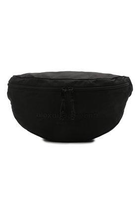 Женская поясная сумка ALEXANDER WANG черного цвета, арт. 20C220F110 | Фото 1