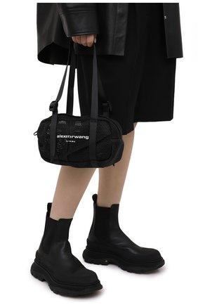 Женская сумка ALEXANDER WANG черного цвета, арт. 20221R40T   Фото 2
