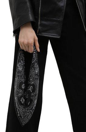 Женская сумка ALEXANDER WANG черного цвета, арт. 20221N20M   Фото 2