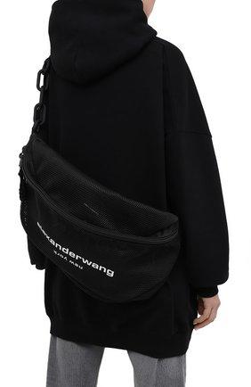 Женская поясная сумка ALEXANDER WANG черного цвета, арт. 20221F12T | Фото 2